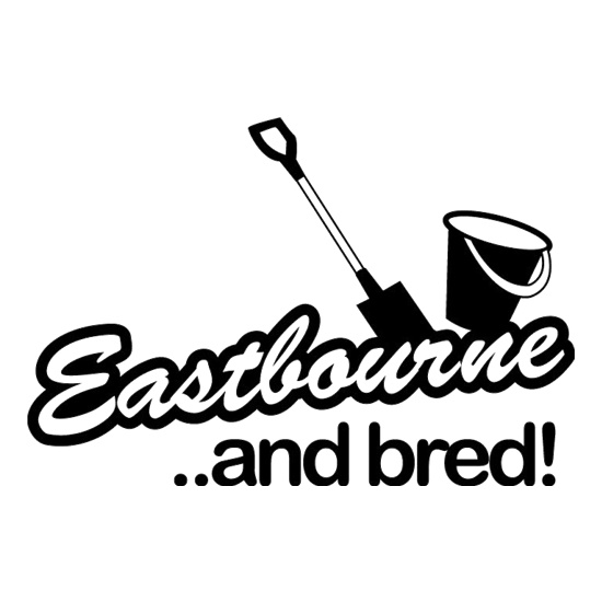 Eastbourne and Bred! t shirt