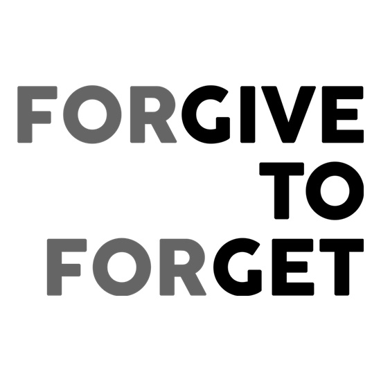 Forgive To Forget t shirt