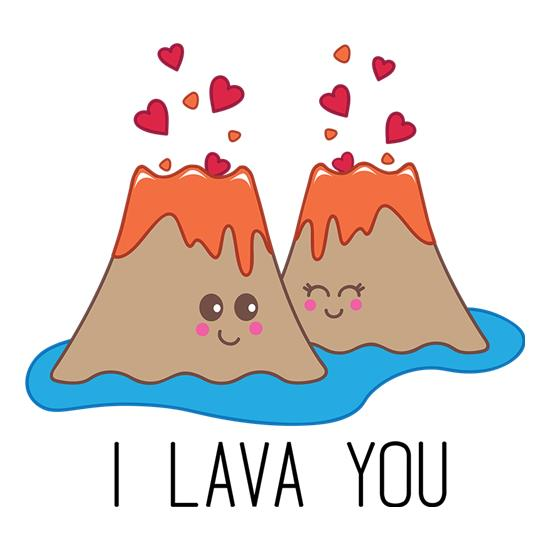 I Lava You t shirt