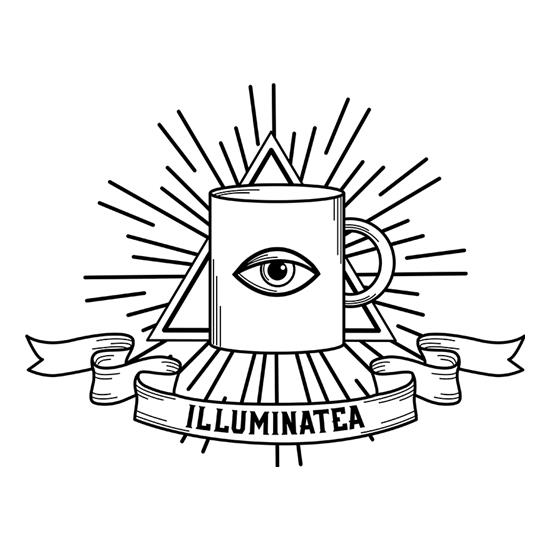 Illuminatea t shirt