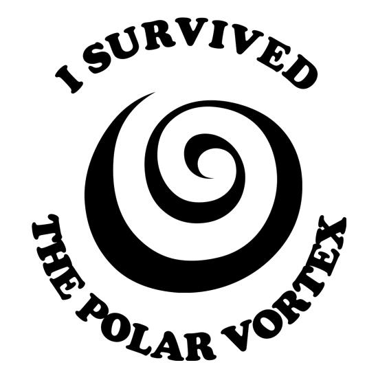 i survived the polar vortex t shirt