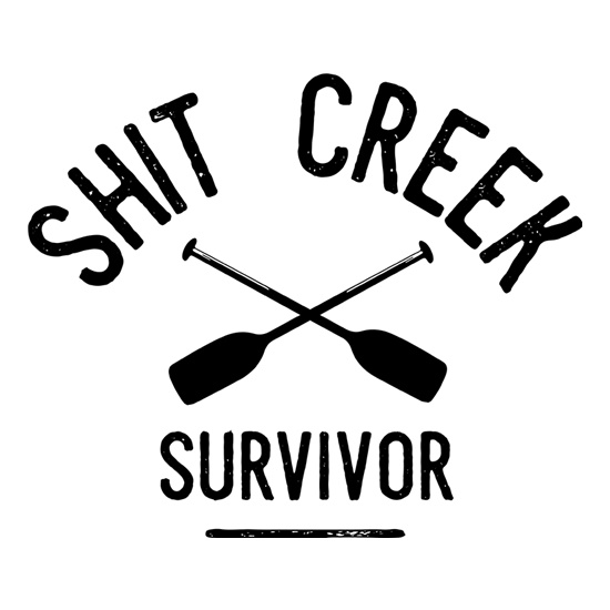 Shit Creek Survivor t shirt