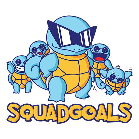 Squad Goals GO t shirt