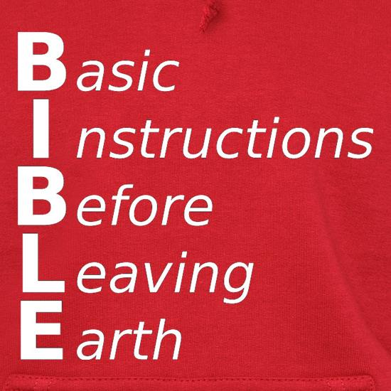 Basic Instructions Before Leaving Earth t shirt