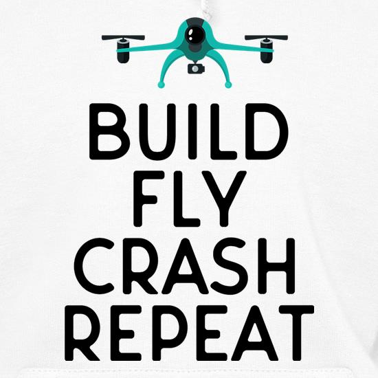 Build, Fly, Crash, Repeat t shirt