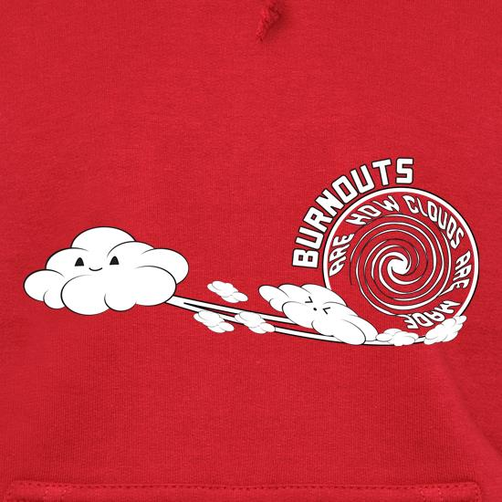 Burnout Clouds t shirt