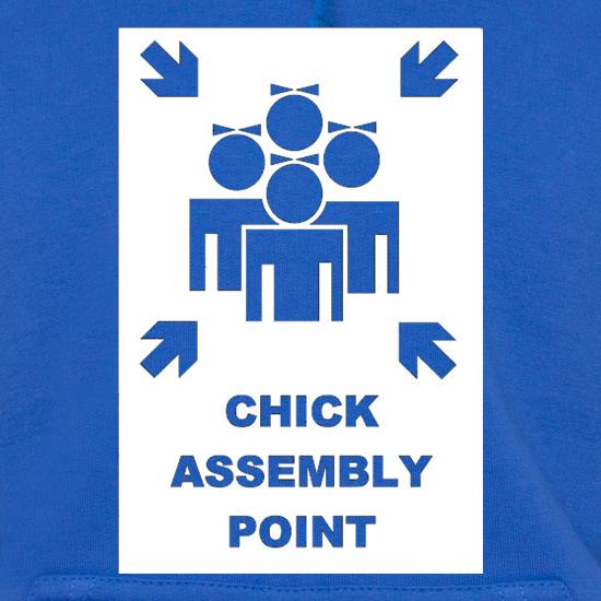 Chick Assembly Point t shirt