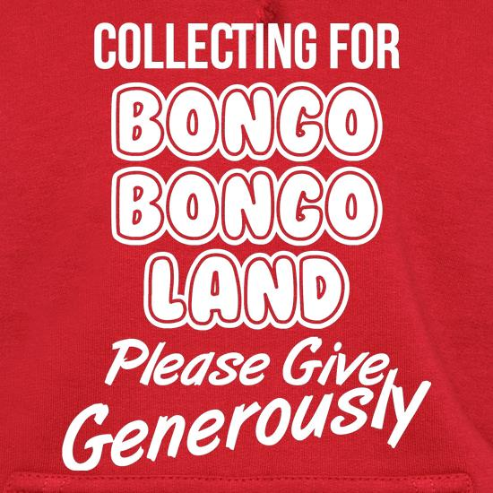 Collecting for Bongo Bongo Land Please Give Generously t shirt