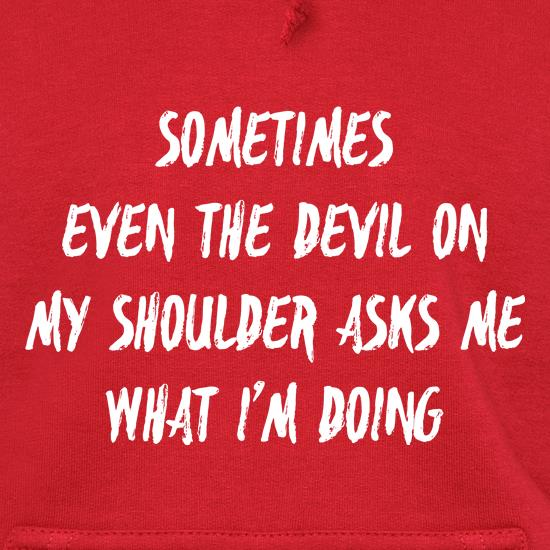 Devil On My Shoulder t shirt