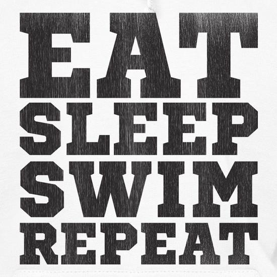 Eat, Sleep, Swim, Repeat t shirt