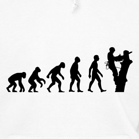 Evolution Of Man Tree Surgeon t shirt