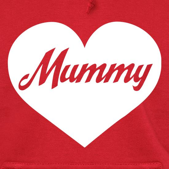 Heart Mummy t shirt