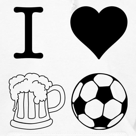 I Heart Beer and Football t shirt