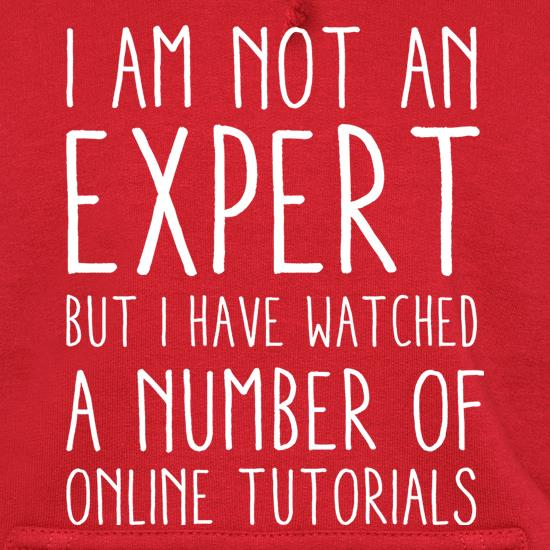 I'm Not An Expert But I Have Watched A Number Of Online Tutorials t shirt