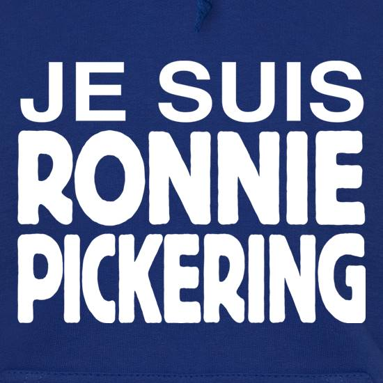 Je Suis Ronnie Pickering t shirt