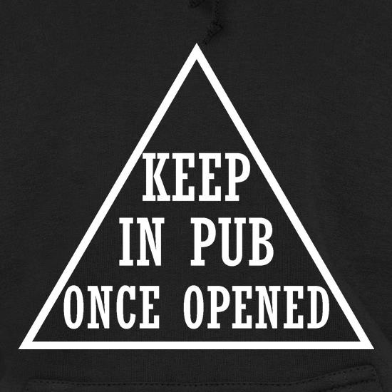 keep in pub once opened t shirt