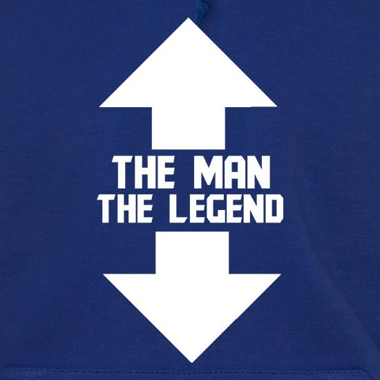 The Man, The Legend t shirt