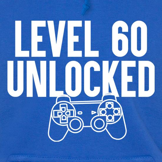 Level Sixty Unlocked t shirt