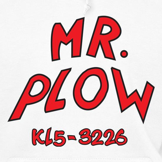 Mr Plow t shirt