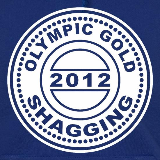 Olympic Gold Shagging t shirt