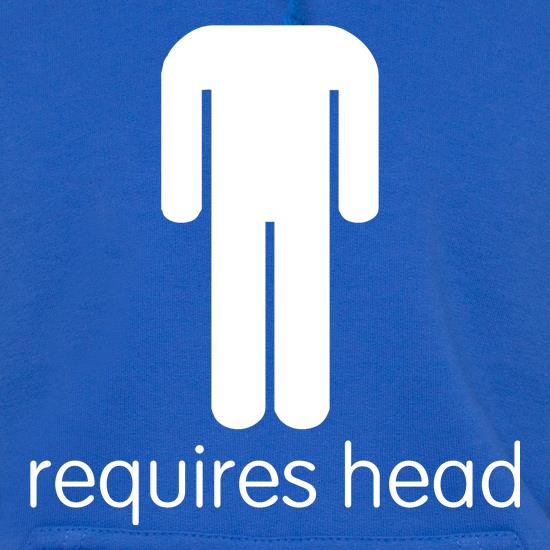 Requires Head t shirt