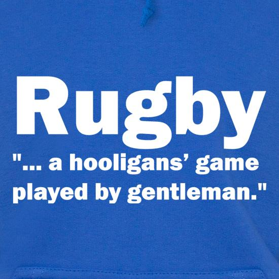 Rugby A Hooligans Game t shirt