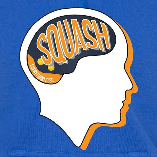 Squash On The Brain t shirt