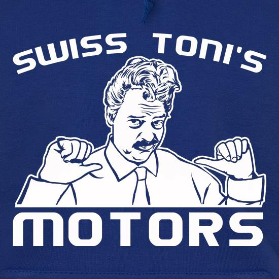 Swiss Toni's Motors t shirt