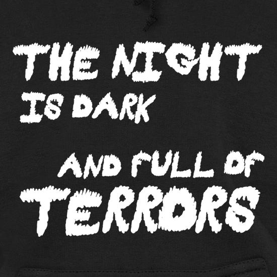 The Night Is Dark And Full Of Terrors t shirt