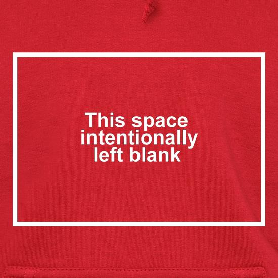 This Space Intentionally Left Blank t shirt