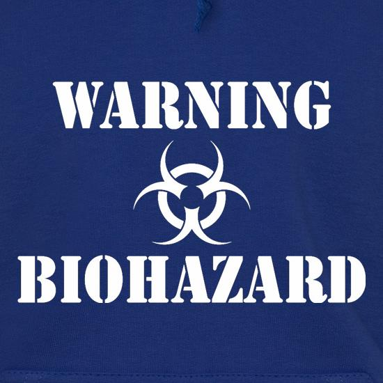 Warning Biohazard t shirt