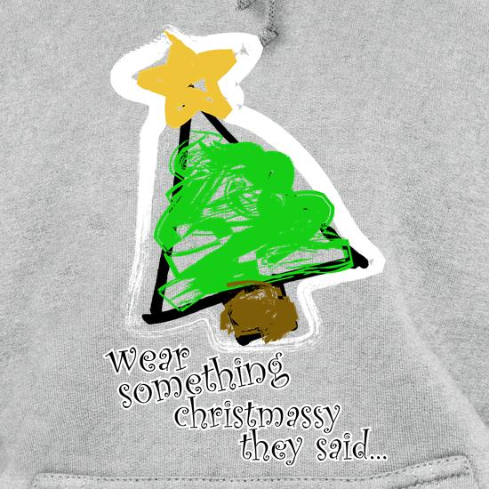 Wear Something Christmassy t shirt