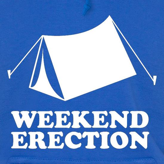 Weekend Erection t shirt
