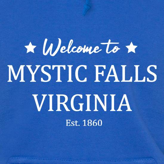 Welcome To Mystic Falls Virginia t shirt