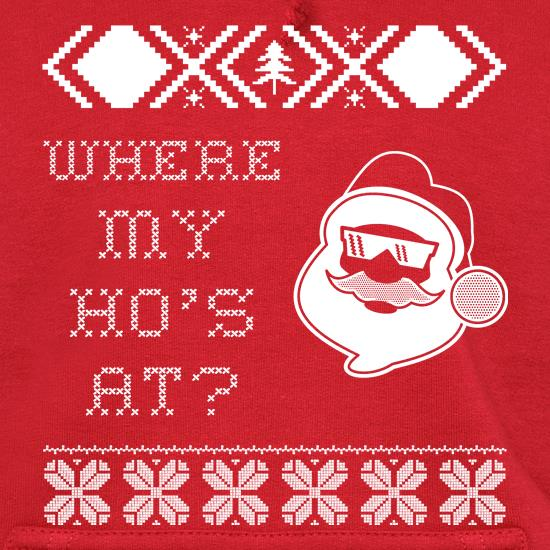 Where My Hoes At Ugly Sweater Style t shirt