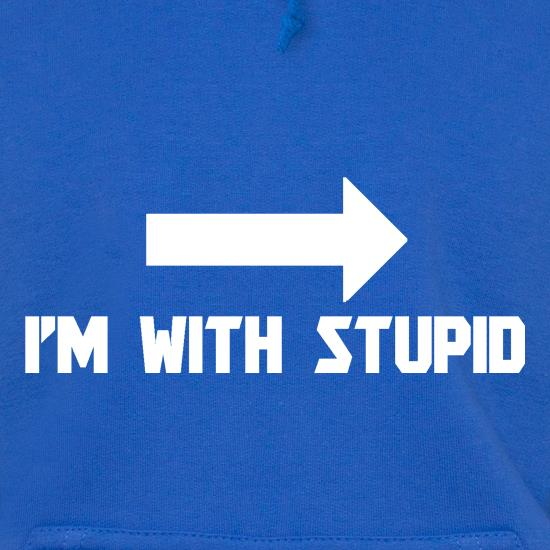 I'm With Stupid t shirt