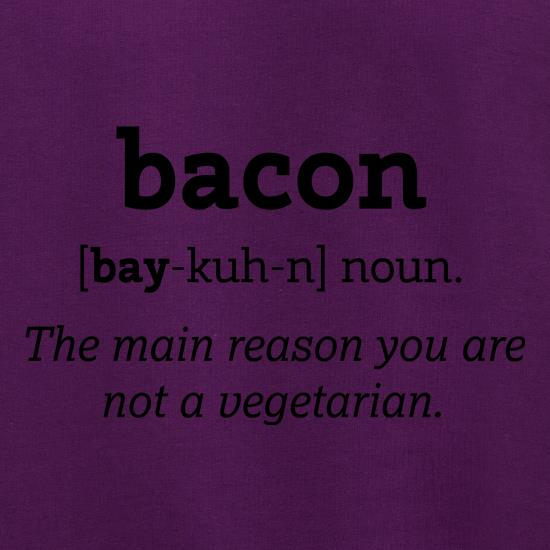Bacon Definition t shirt