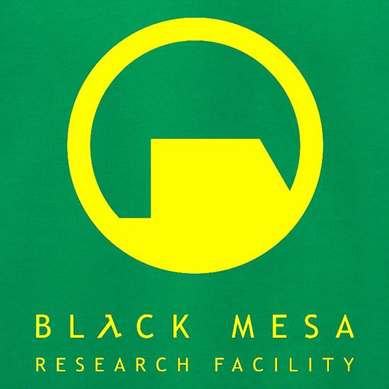 Black Mesa Research Facility t shirt