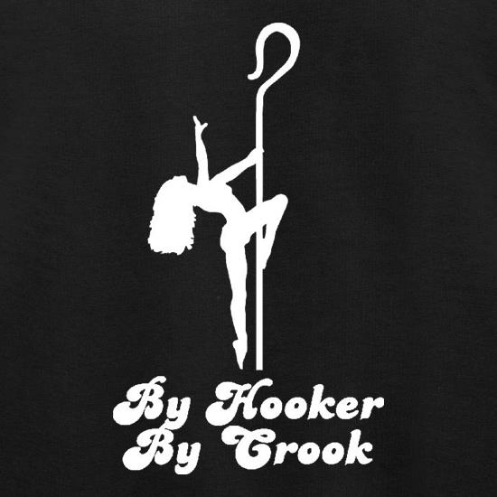 By Hooker By Crook t shirt