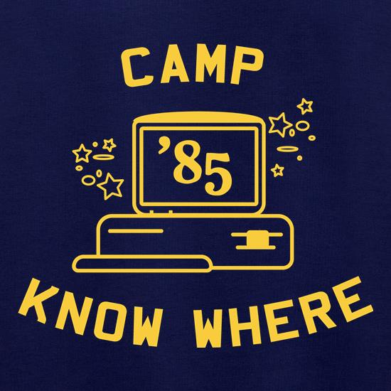 Camp Know Where t shirt