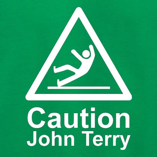 Caution John Terry t shirt