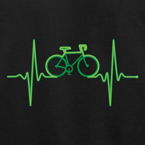Cycling Heartbeat t shirt
