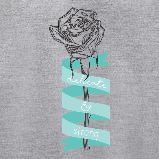 Delicate & Strong t shirt