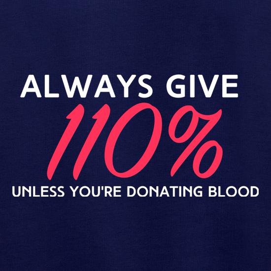 Donating Blood t shirt