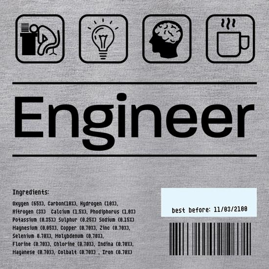 Engineer Ingredients t shirt