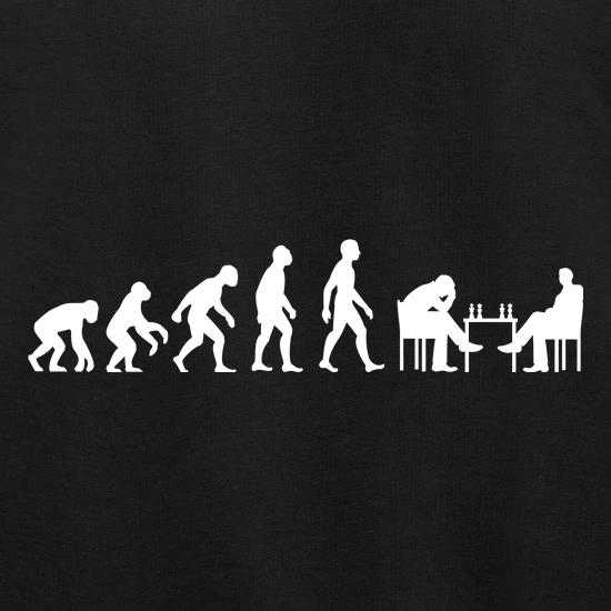 Evolution Of Man Chess t shirt