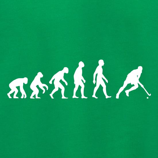 Evolution Of Man Field Hockey t shirt