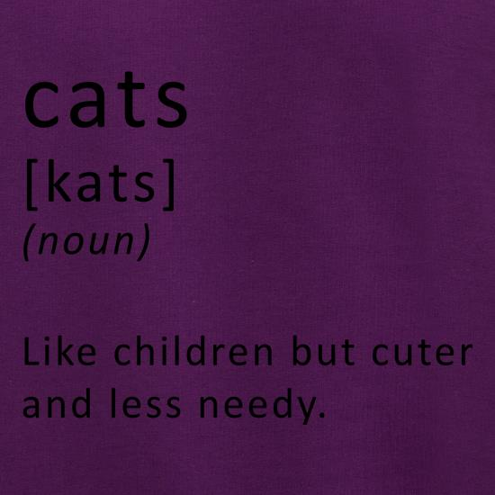 Funny Definition of Cats t shirt