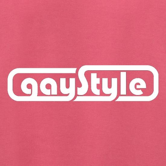 Gay Style t shirt