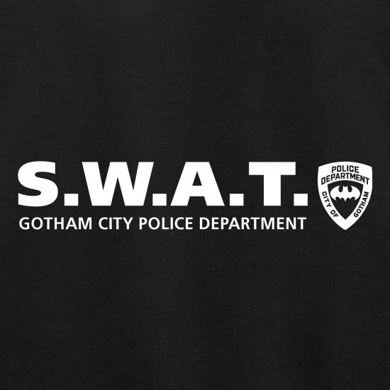 Gotham City Police Department - SWAT t shirt